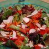 Mixed Greens Salad with Lemon Mustard Vinaigrette