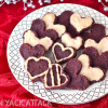 Chocolatelove: Raw Red Velvet Cookies with Cashew Icing