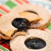 #CookieLove Blog Hop: Carob Ganache Linzer Cookies