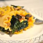 Butternut Squash & Mushroom Lasagna Rolls