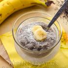 Banana Cream Chia Pudding & A Tribute