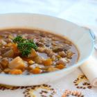 Smoky Mushroom Vegetable Slow Cooker Stew