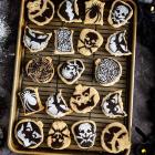Vegan Halloween Shortbread Cookies