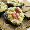 Raw Flax Crackers & Simple Guacamole