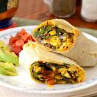 Greenslove: Tofu Scramble Breakfast Burrito