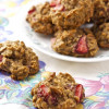 Strawberry Banana Nut Oatmeal Cookies