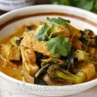 Crispy Tofu Thai Curry + June Vegan Food Swap