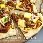 BBQ Gardein Pineapple Pizza & Vegan Pizza Day!