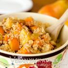 Roasted Fruit Bulgur Wheat Salad