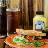 Balsamic Baked Tofu Sandwich
