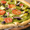 Mediterranean Pesto Pizza