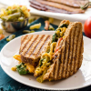 Vegan Grilled Mac n Cheese BLT