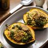 Quinoa-Stuffed Acorn Squash