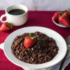 Chocolate-Covered Strawberry Oatmeal