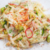 Jicama Avocado and Radish Salad with Lime Vinaigrette