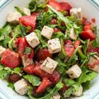 Herbed Tofu Tomato Salad