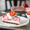 Strawberry Swirl Cheesecake and Giveaway!