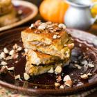 Pumpkin Cream Cheese-Stuffed French Toast