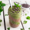 Mint Chocolate Chia Parfait