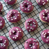 Mini Blueberry Cardamom Donuts