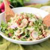 Quinoa Fennel Chickpea Salad