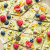 Spring White Chocolate Matcha Bark