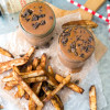 Spicy Chocolate Shake with Cinnamon Fries