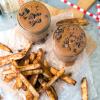 Spicy Chocolate Shake with Cinnamon Fries