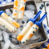 Apricot Blueberry Creamsicles