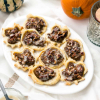 Pecan Pumpkin Pastries with Maple Glaze