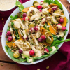 Brussels Sprout Butternut Squash Salad with Creamy Dressing