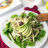 Buckwheat Green Apple Cranberry Avocado Salad
