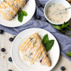 Glazed Blueberry Mint Scones + Giveaway