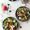 Summery Salad with Blackberry Vinaigrette