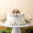 Caramel Fig Vanilla Layer Cake