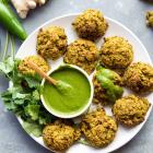 Baked Vegetable Pakoras {Vegan Richa's Every Day Kitchen}