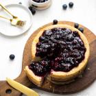 Baked Blueberry Cheesecake {Vegan Comfort Classics}