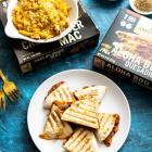 Review: Sweet Earth Foods Frozen Meals - BBQ Quesadilla // Cauliflower Mac