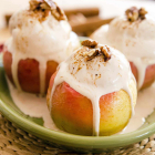 Baked Apple Cinnamon Sundaes