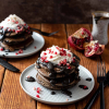 Spooky Buckwheat Pancakes