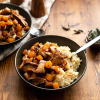 Instant Pot Chanterelle Squash Risotto