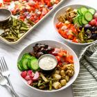 Mediterranean Sheet Pan Meal