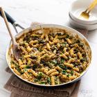One-Pot Lentil Mushroom Pasta