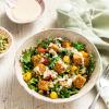 Comforting Tempeh Kale Salad