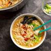 Vegan Spicy Udon Noodle Soup [The Friendly Vegan Cookbook]