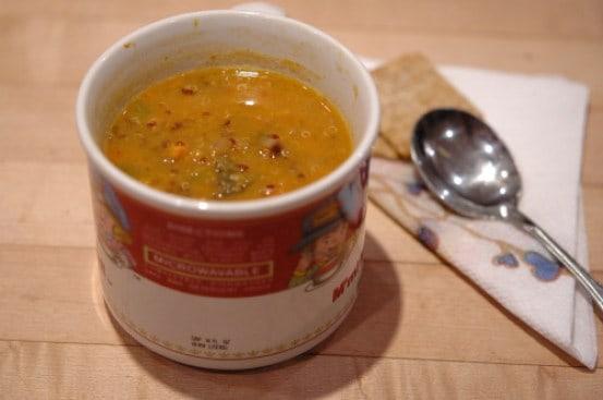 Smoky Yam Soup