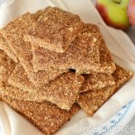 Raw Apple Cinnamon Almond Bars