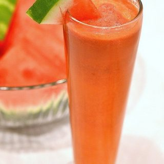 Sweet Watermelon, Apple & Carrot Juice