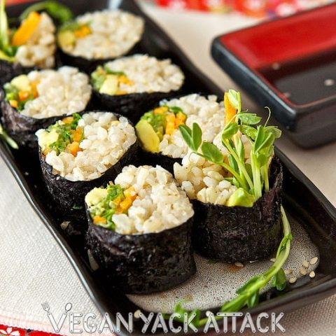 Brown Rice Veggie Roll