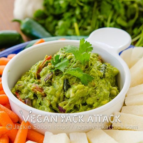 Roasted Veggie Guacamole